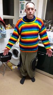 Rainbow Wool Jumper