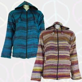 Acrylic Wool Fleece Lined Jackets