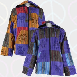 Cotton Patchwork Jacket