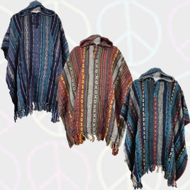 Thick Weave Ponchos