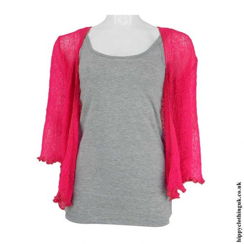 Fuchsia-Hippy-Shrug