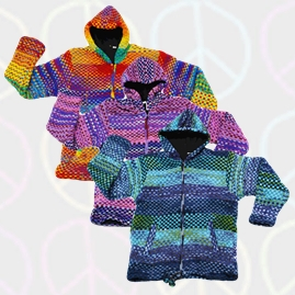 Jacquard Patterned Wool Jackets