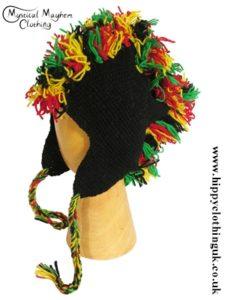Rasta Nepalese Wool Hat