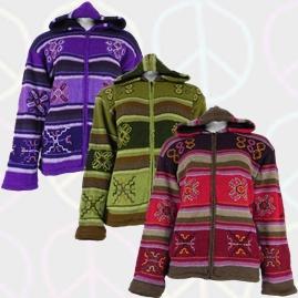Nepalese Style Wool Jackets