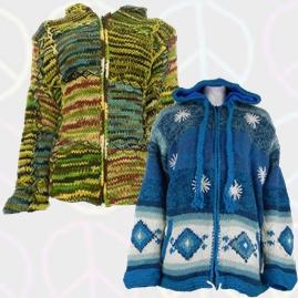 Pixie Hooded Wool Jacket