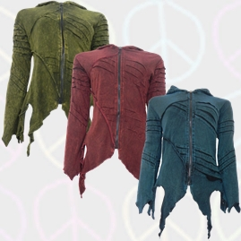 Ragged Hem Pixie Jackets