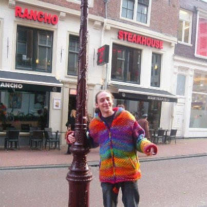 Rainbow Wool Jacket