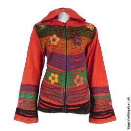Red-Pixie-Hooded-Embroidered-Jacket