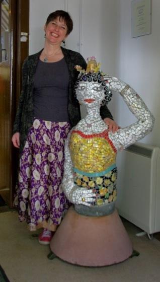 Silk Sari Wrap Skirt