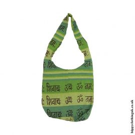 Small-Green-Cotton-Hippy-Shoulder-Bag