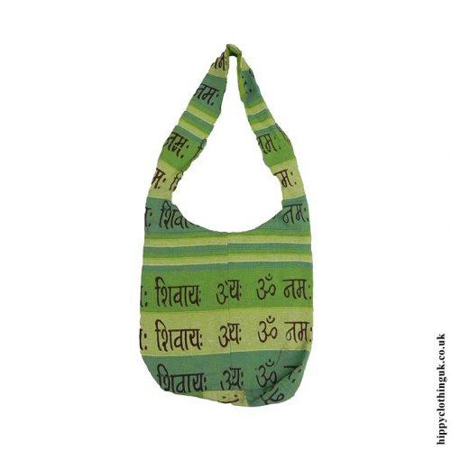 Small-Green-Cotton-Hippy-Shoulder-Bag