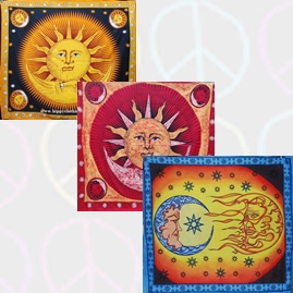 Sun and Moon Throws