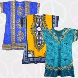 Thai Cotton Kaftan Dresses