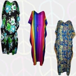Thai Rayon Kaftan Dresses