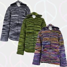 Tie Dye Wool Jackets