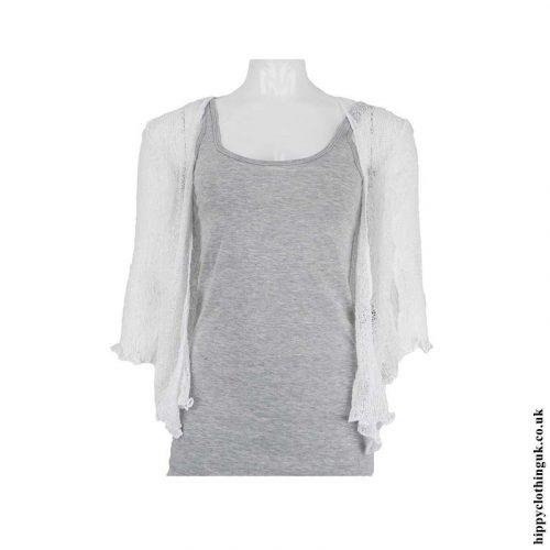 White-Bali-Knit-Shrug