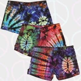Tie Dye Hot Pants/Shorts