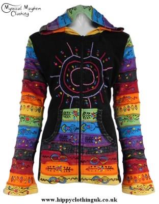 Bares PIxie Hooded Sunshine Jacket