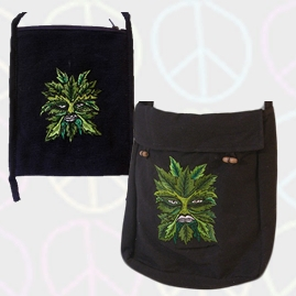 Green man Bags