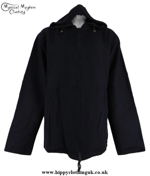Greenman Cotton Lined Hooded Jacket