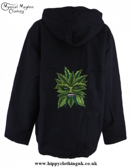 Greenman Cotton Lined Hooded Jacket Back
