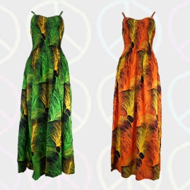Long Hippy Dresses