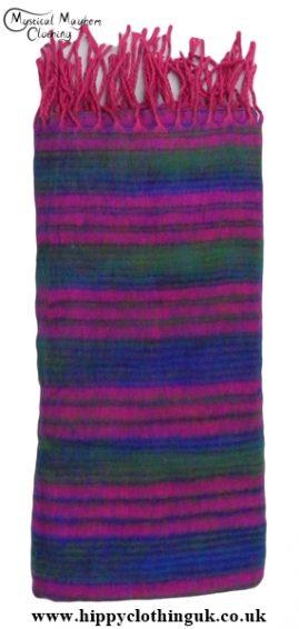 Soft Feel Acrylic Wool Blanket