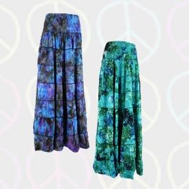 Tie Dye Two in One Dress/Skirt