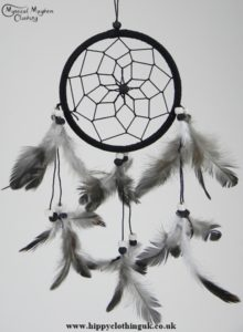 Black Cotton Dream Catcher