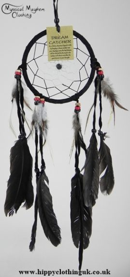 Black Suede Dream Catcher