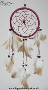 Brown Cotton Dream Catcher