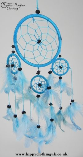 Turquoise Cotton Dream Catcher