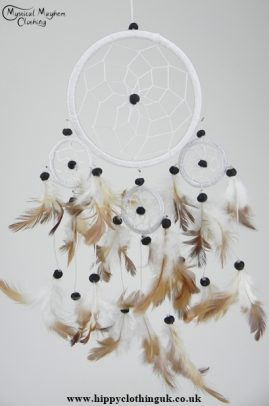 White Cotton Dream Catcher