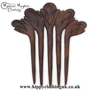 Five-Prong-wooden-hippy-Hair-Fork---Edited