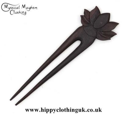Lotus-Flower-wooden-hippy-Hair-Fork---Edited