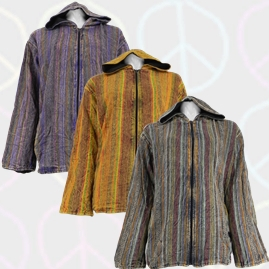 Gringo Cotton Over Dyed Jackets with Fleece Lining