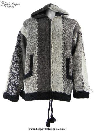 Nepelase Fleece Lined Wool Jacket Unisex