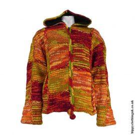 Orange-Pixie-Hooded-Wool-Jacket