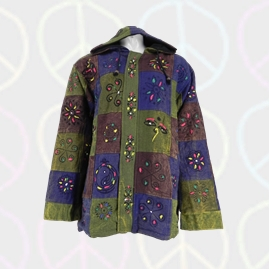 Gringo Cotton Patchwork Printed Pattern Lined Jackets