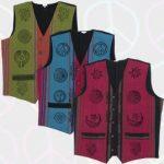 Fair Trade Hippy Waistcoats