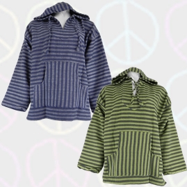 Striped Cotton Hippy Festival Smocks