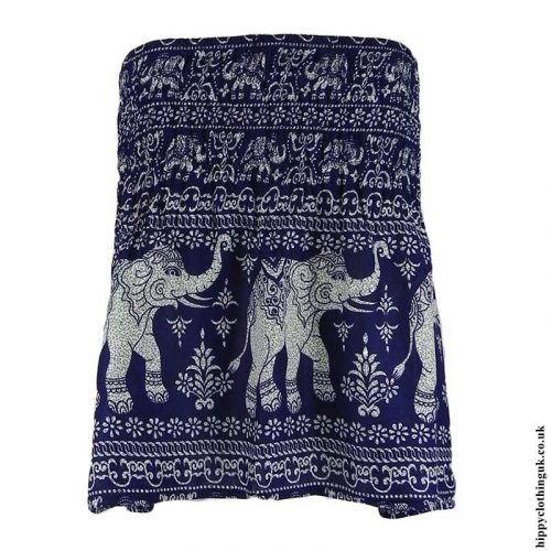 Dark-Blue-Elephant-Mini-Skirt