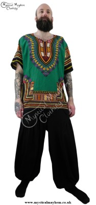 Dashiki Shirt, Hippy Top,