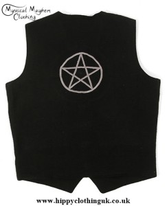 Pentagram Waistcoat Back