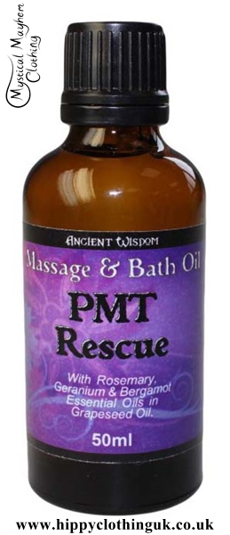 Ancient Wisdom PMT Rescue Massage and Bath Essential Oil 50ml