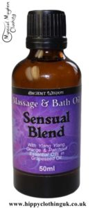 Ancient Wisdom Sensual Massage and Bath Essential Oil 50ml