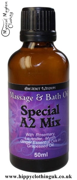 Ancient Wisdom Special A2 Mix Massage and Bath Essential Oil 50ml