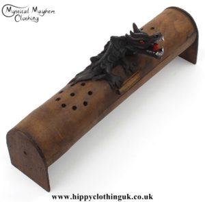 Black Dragon Incense Box, Incense Burner, Incense Ash Catcher