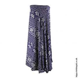 Blue-Elephant-Wrap-Skirt