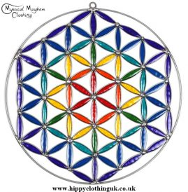 Flower of Life Suncatcher